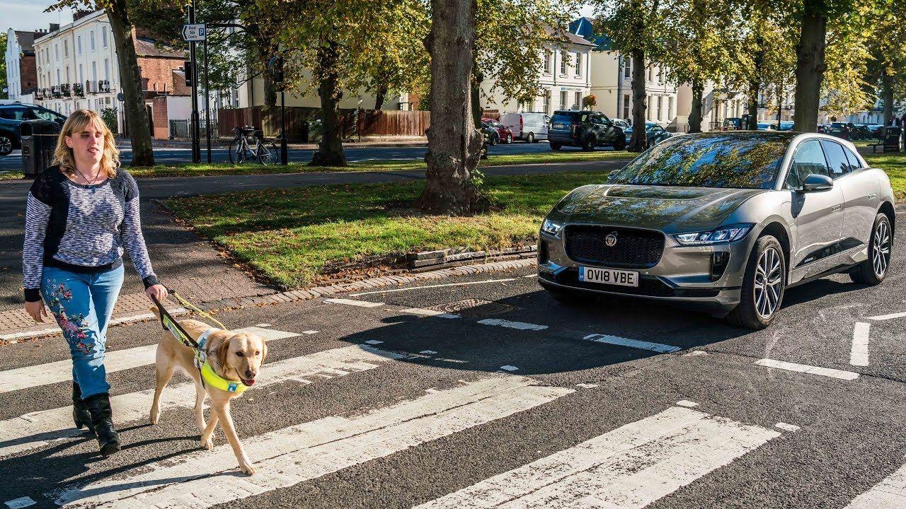 Jaguar I Pace Safety Sounds For The Visually Impaired Jaguar Jaguar Models Cars Uk