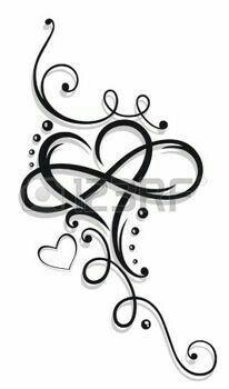 Tattoos Tatouage Infini Dessins De Fleurs Pour Tatouage Tatouage Coeur