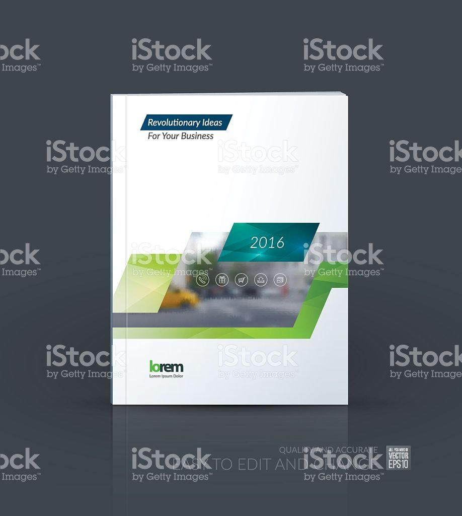 Brochure template layout, cover design annual report, magazine ...