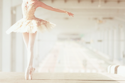 ballerina and incredible whiteness