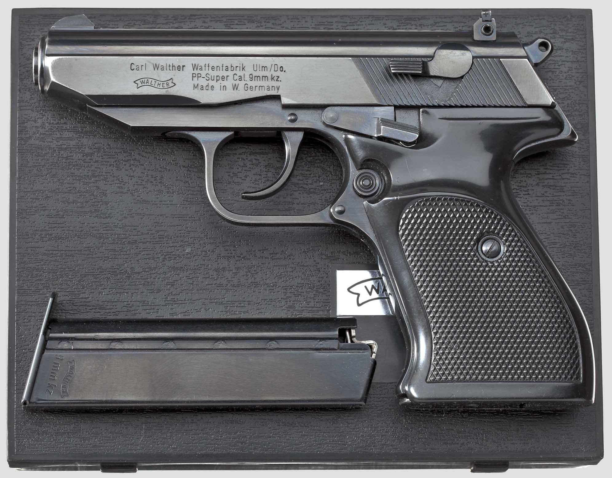 Walther PP-Super in 9mm Kurtz (AKA  380 ACP)    guns   Hand