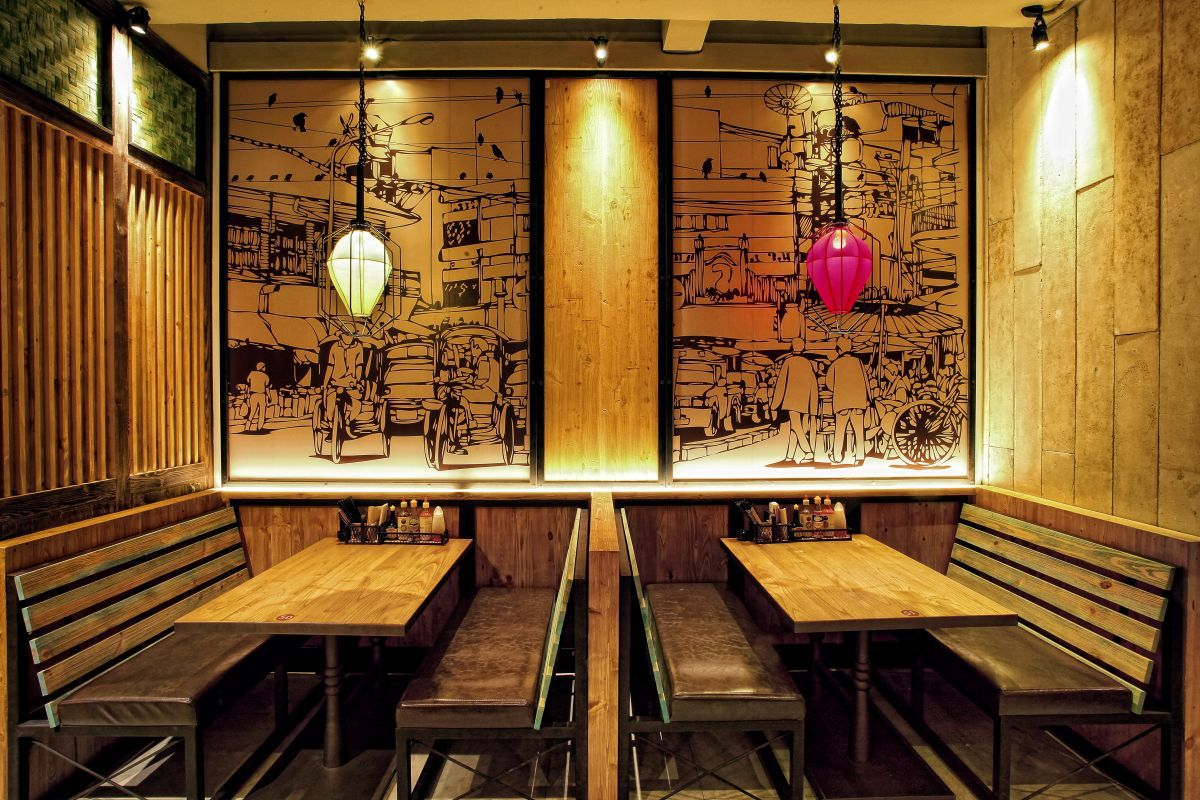 Bam & Senju Restaurant by Metaphor Interior at Plaza Indonesia, Jakarta   Indonesia  Retail