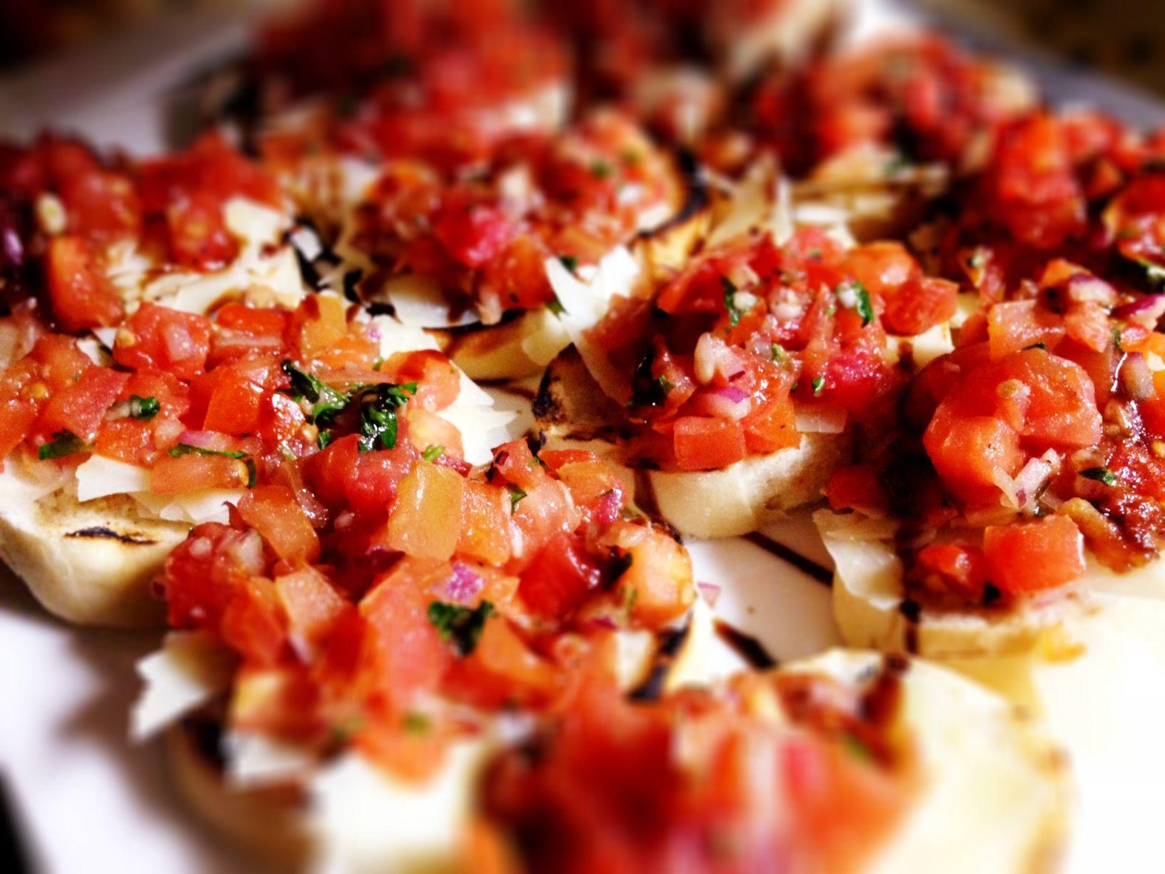Zesty bruschetta by Chef Jase. detroitfoodie