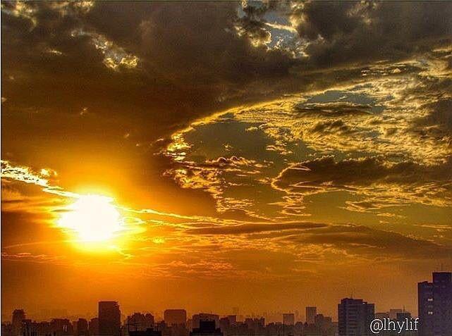 o ceu de Sao Paulo