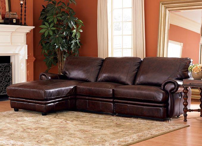 Living Room Furniture, Bentley Sectional, Living Room ...