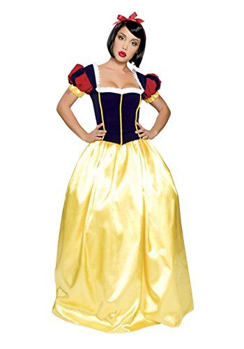 Roma Costume 3 Piece Deluxe Snow White Costume YellowBlue SmallMedium *** You can get additional details at the image link-affiliate link.