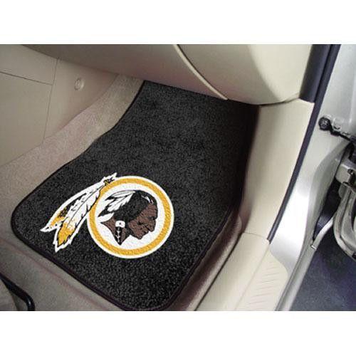 Washington Redskins NFL Car Floor Mats (2 Front)