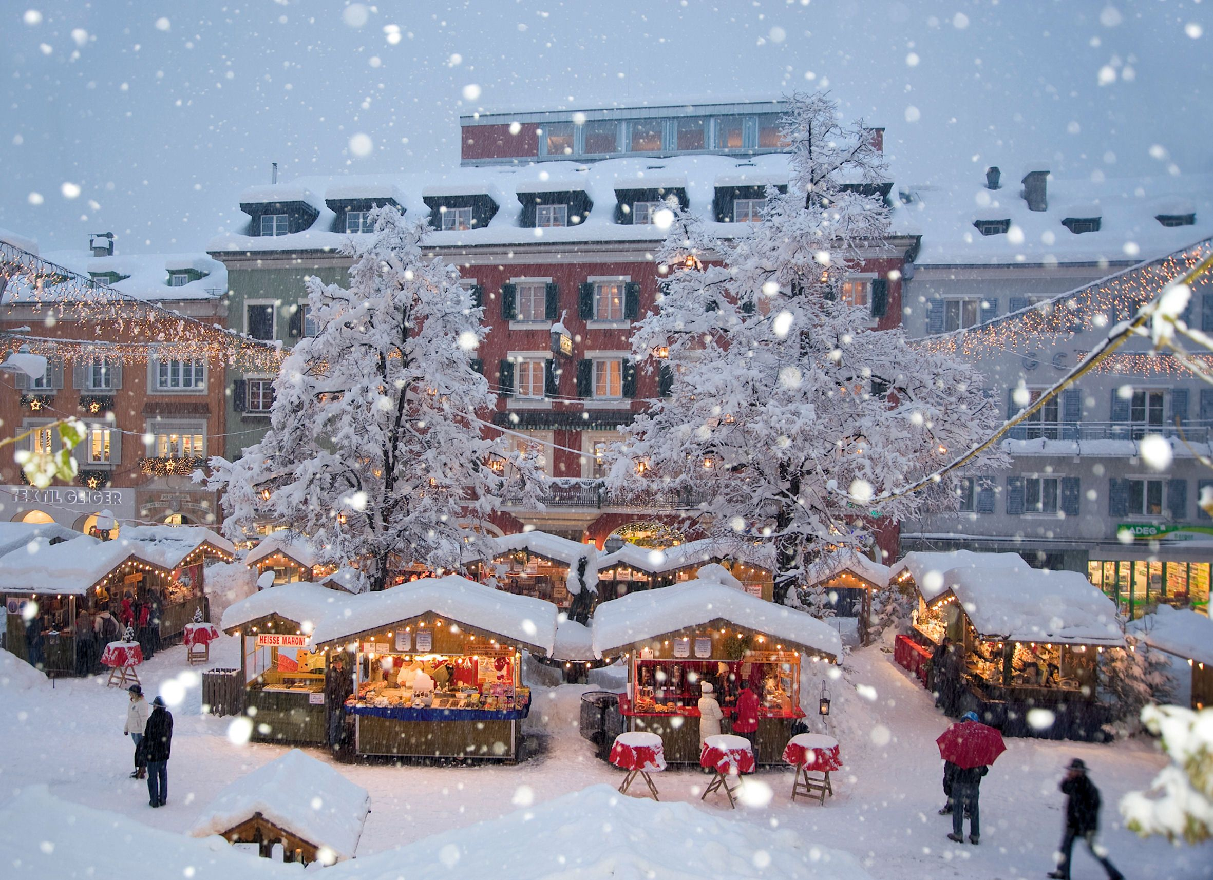 Christmas At The Resort Of Lienz Austria Wallpapers And Images