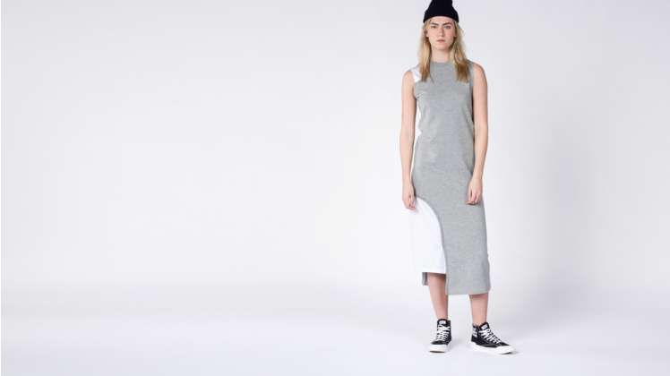 Cheap Monday Black Grey Panel Dress   Wildfang - 2