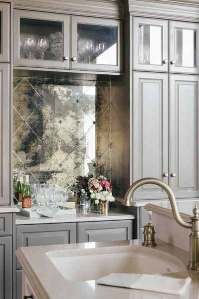 Decorative Wall Tiles Kitchen How To Make A Chic Athome Bar According To Jeffrey Beers