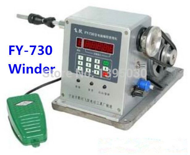 $706.00 (Buy here: http://appdeal.ru/emup ) By DHL 2pc FY-730 CNC Electronic winding machine Electronic winder Electronic Coiling Machine Winding diameter 0.03 -1.80mm for just $706.00