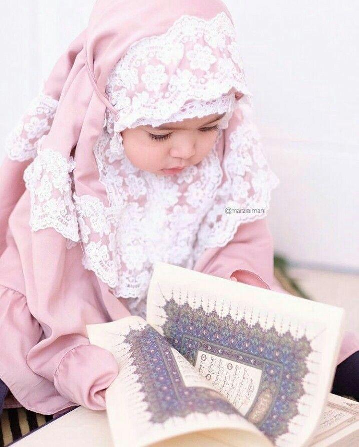 Love Qur An Baby Hijab Hijab Kids Cute Baby Girl