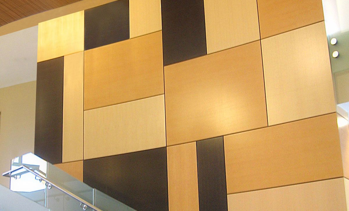 Rulon Company: Wood ceilings, acoustical wall systems and suspended ...