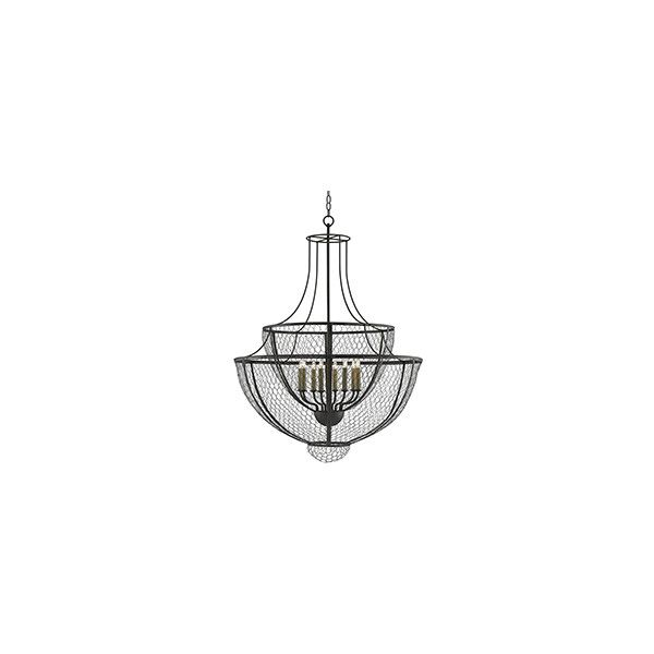 French country wire basket chandelier 2740 liked on polyvore french country wire basket chandelier 2740 liked on polyvore featuring home lighting aloadofball Gallery
