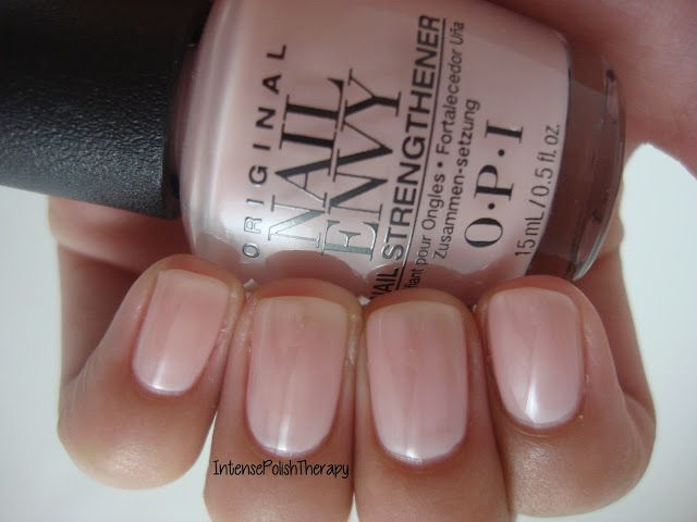OPI - Nail Envy - Bubble Bath | Work Appropriate | Pinterest | Opi ...