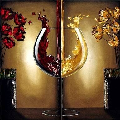 Beautiful modern art oil painting on canvas,still life oil painting ...
