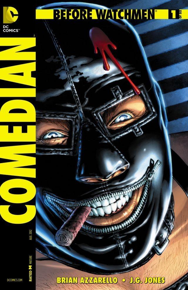 Before Watchmen: Comedian #1 (of 6) #BeforeWatchmen #Comedian #DC