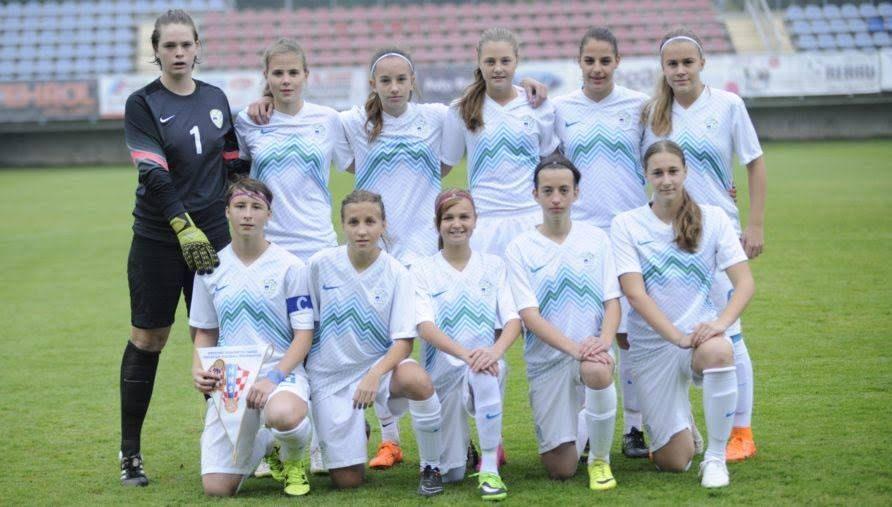 V prijateljski mednarodni nogometni tekmi je v Lendavi ženska reprezentanca Slovenije starostne kategorije U – 15 v prvi uradni tekmi pod taktirko Petre Mikeln premagala Hrvaško s 4:0.