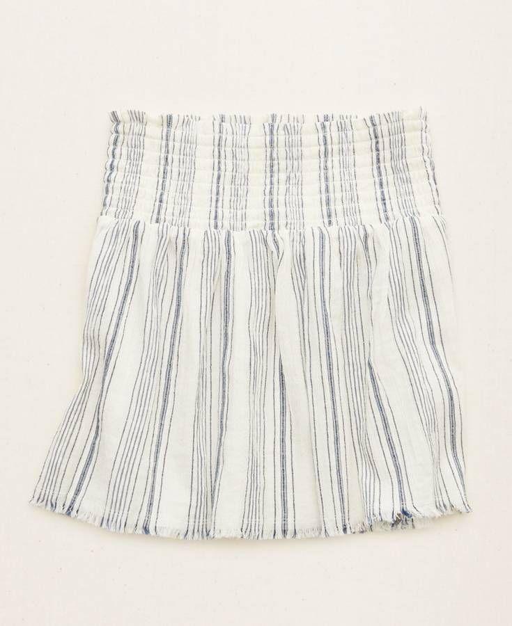Aerie Hi-Rise Skirt, Women's, White