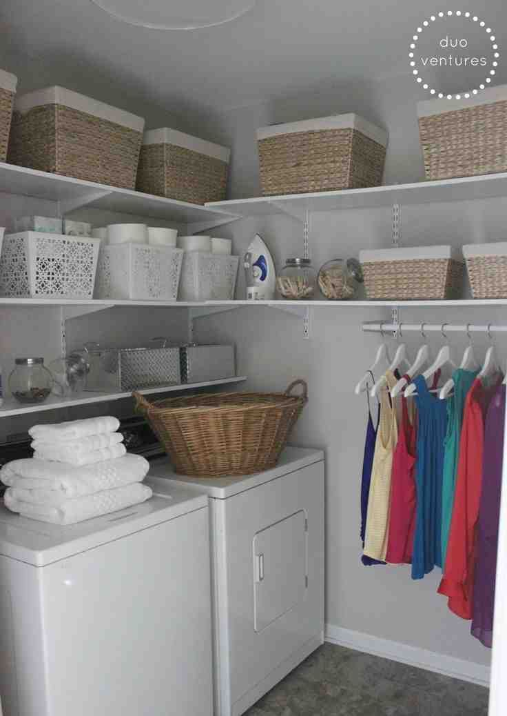 Laundry Room Storage Bins Laundry Room Remodel Laundry Room