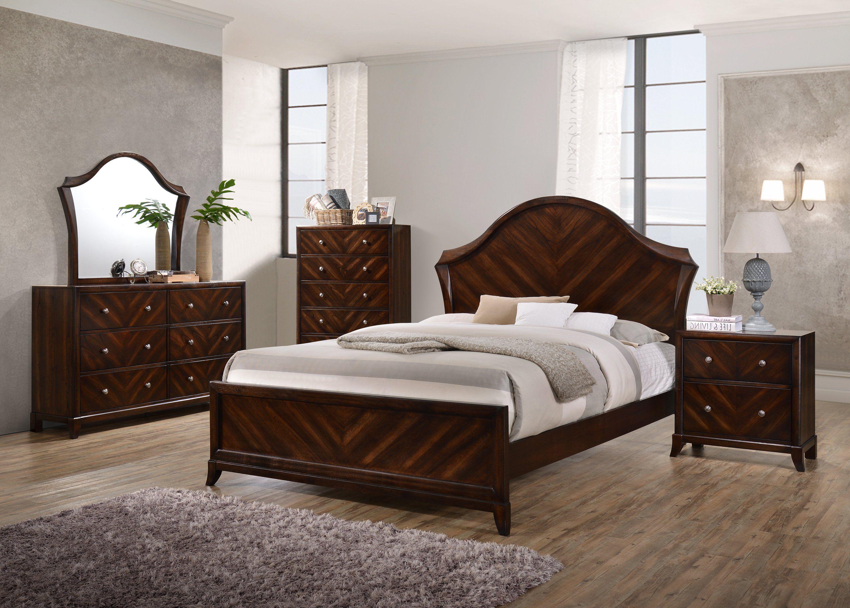 Best Wenge Mahogany Wood Contemporary 5 Drawer Storage Bedroom 400 x 300