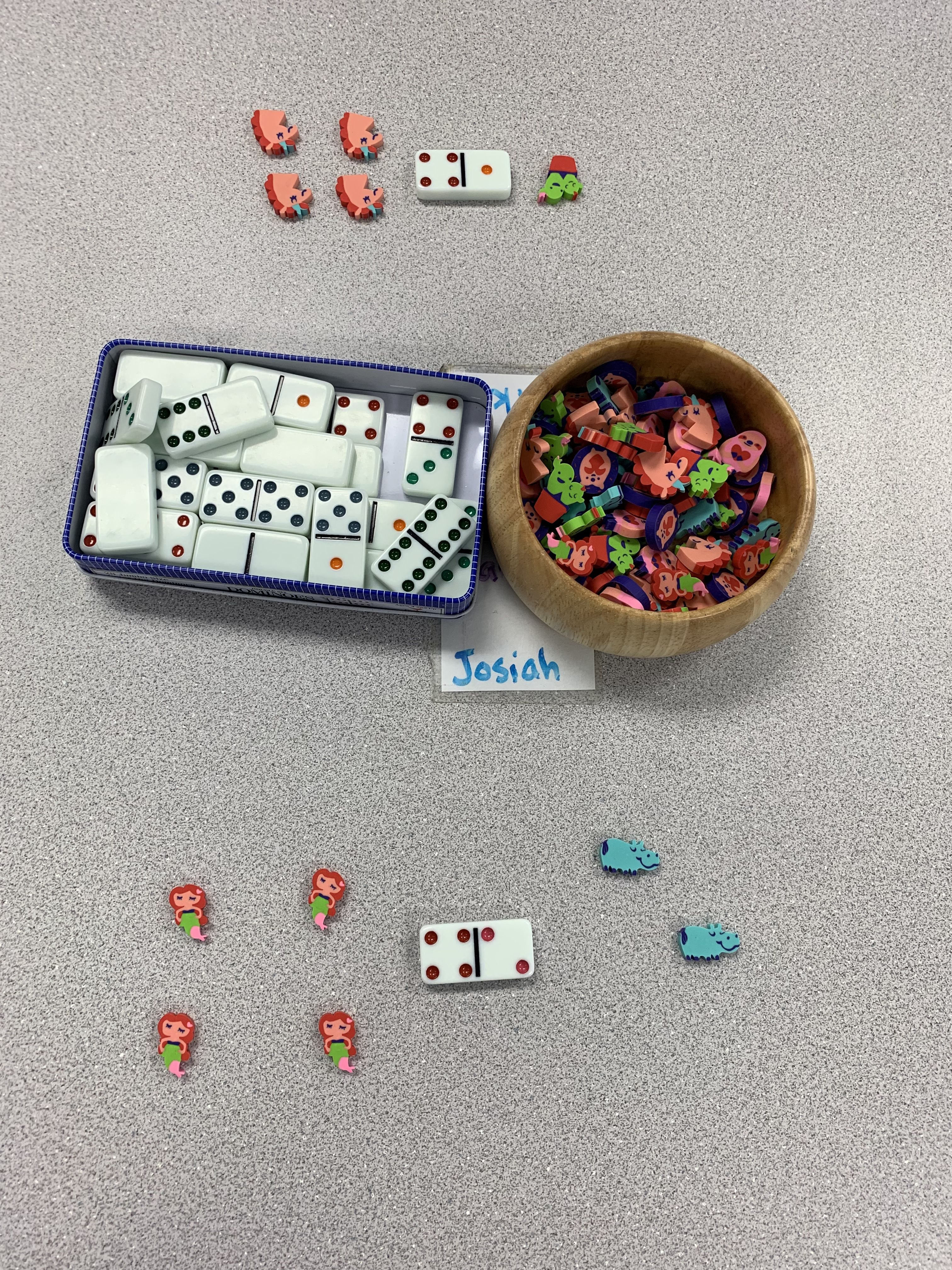 Using Counters Students Can Match The Amount On The