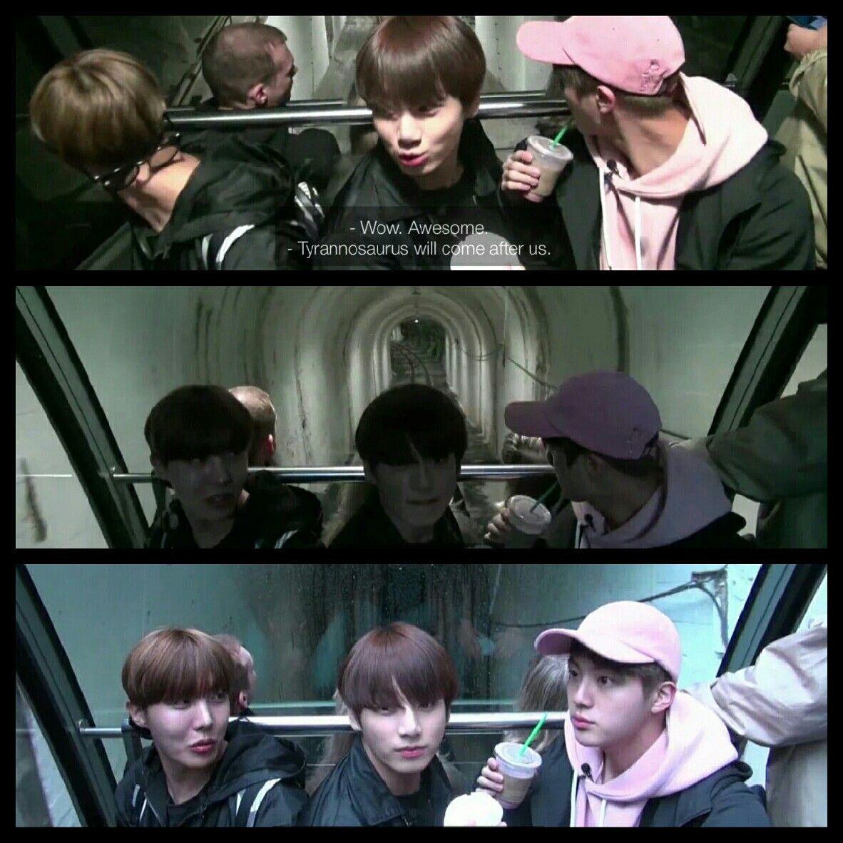 BTS #방탄소년단 Bon Voyage Episode 3 ❤ Hoseok, Jungkook and Seokjin ...