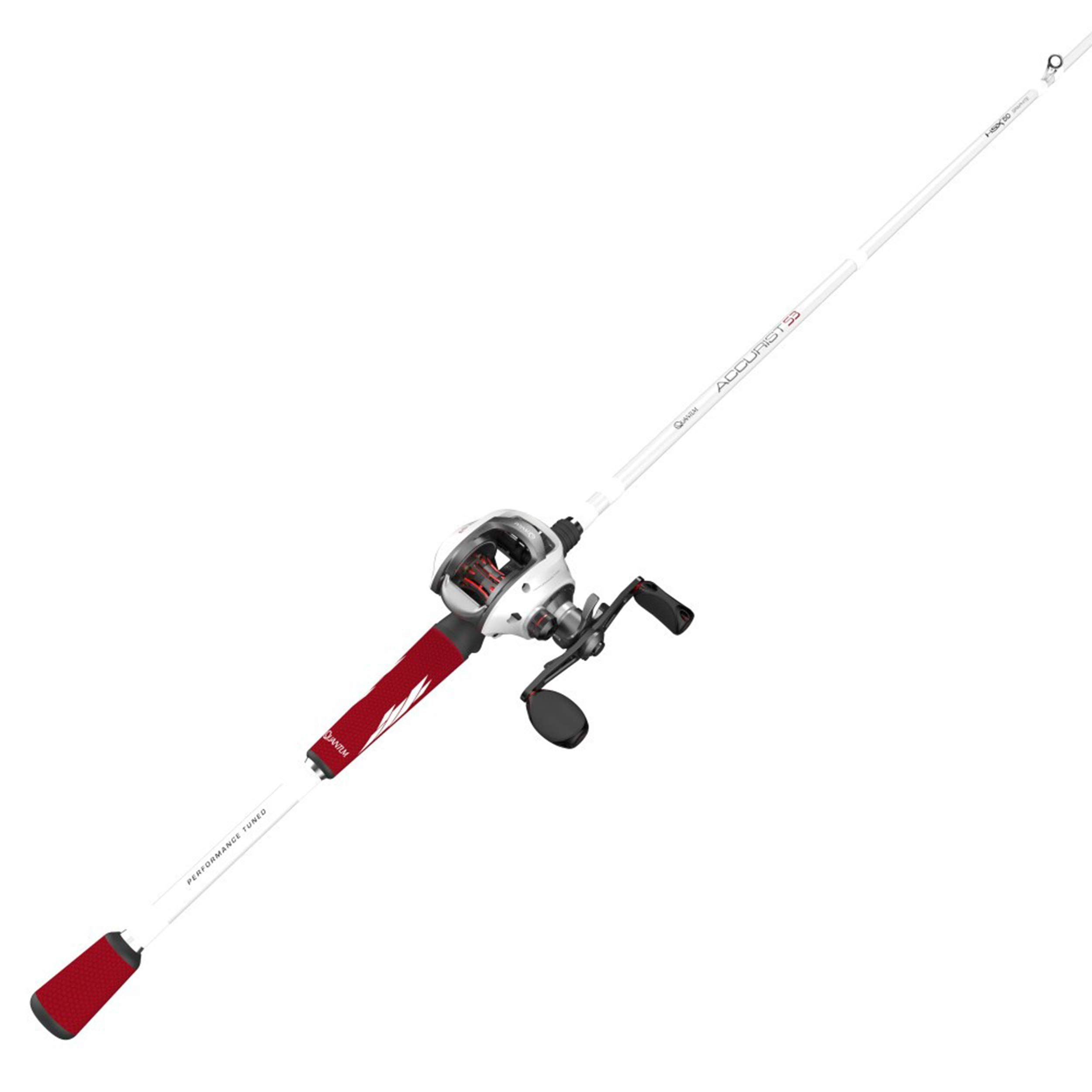 Quantum Accurist S3 Pt Baitcast Reel And Fishing Rod Combo 7 Feet Medium Heavy 7 0 1 Right Hand Size 100 Https Fishingrodsree Rod Fishing Rod Right Hand