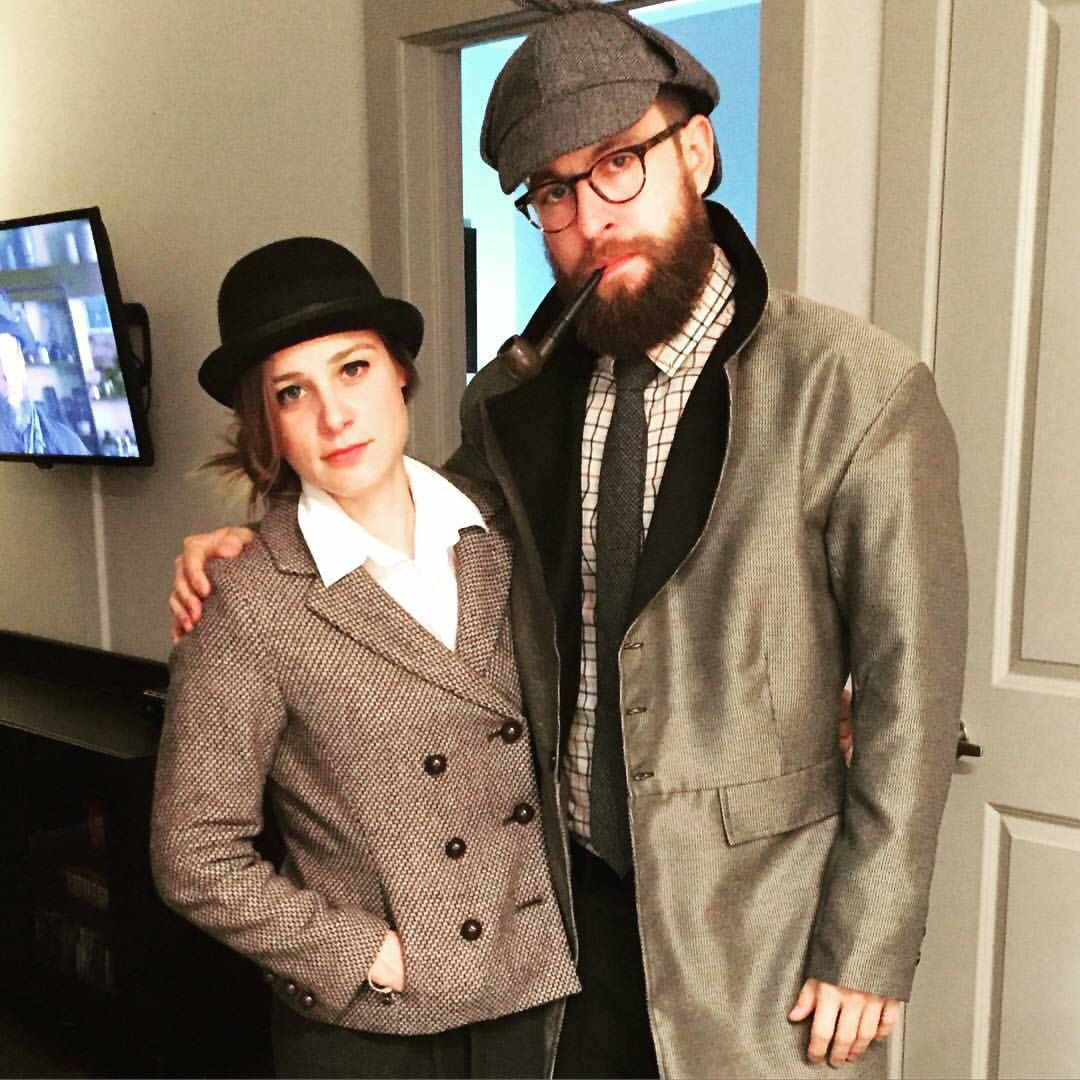 Sherlock Holmes And Dr. Watson Couples Costume