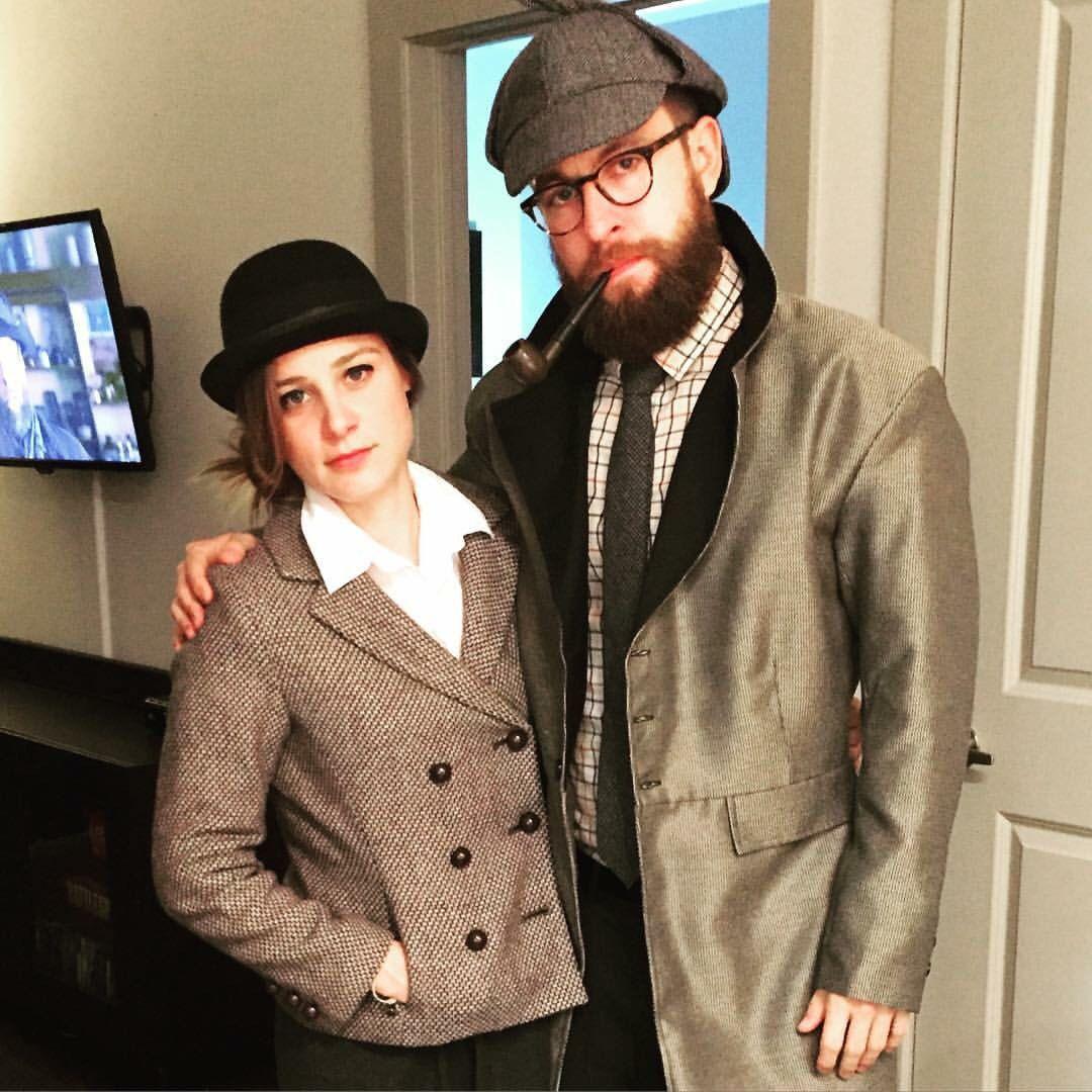 Sherlock Holmes and Dr. Watson couples costume! Sherlock
