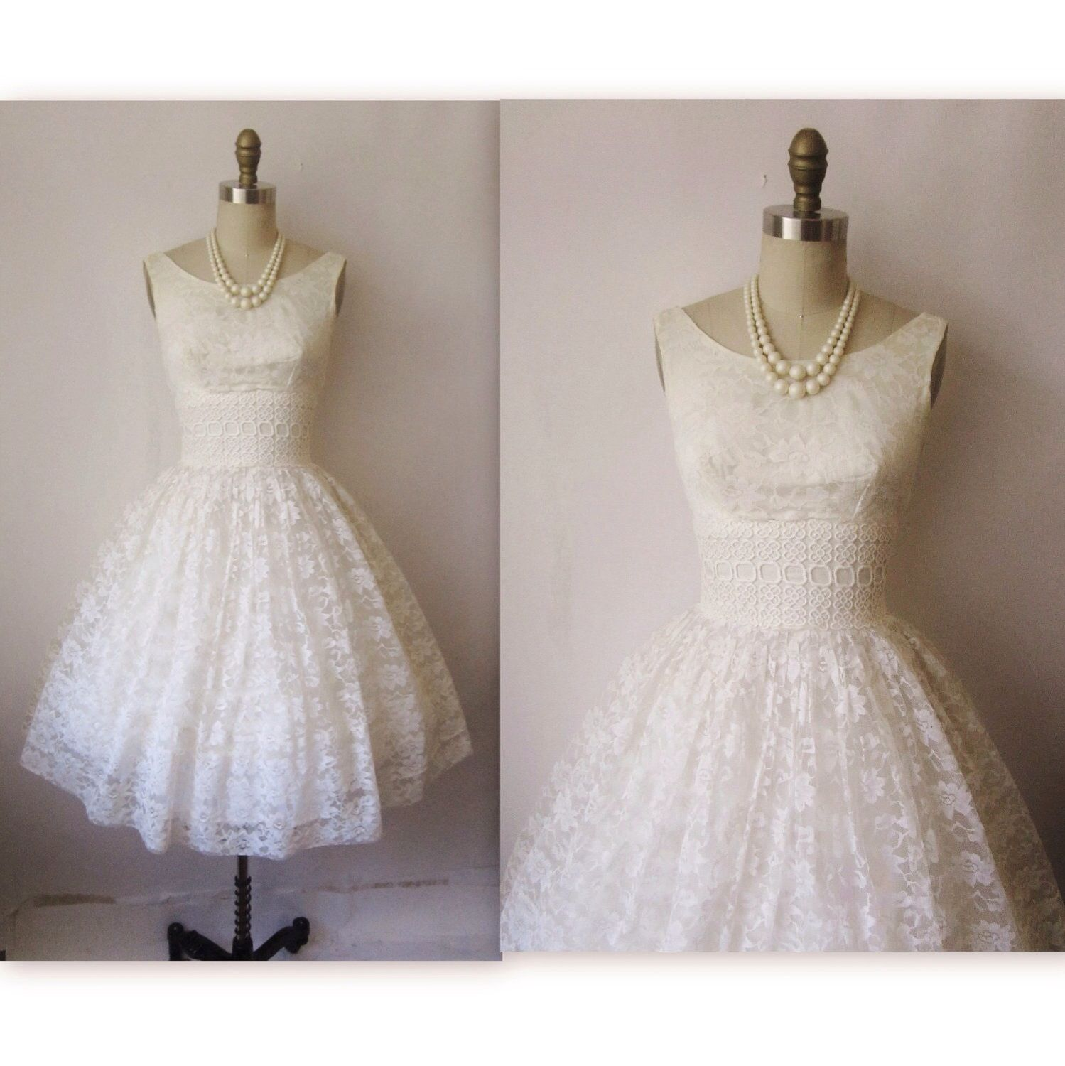 50s Lace Wedding DressesEngagement