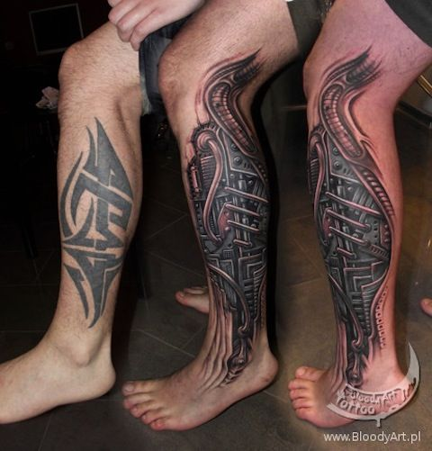 Artist Spotlight Sebastian Zmijewski Cover Tattoo Cover Up Tattoos Tribal Art Tattoos