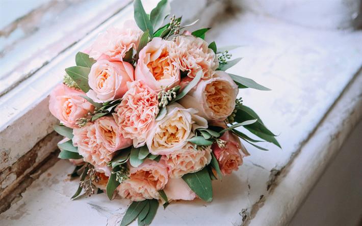 Telecharger Fonds D Ecran Bouquet De Mariage De Rose De Pivoine