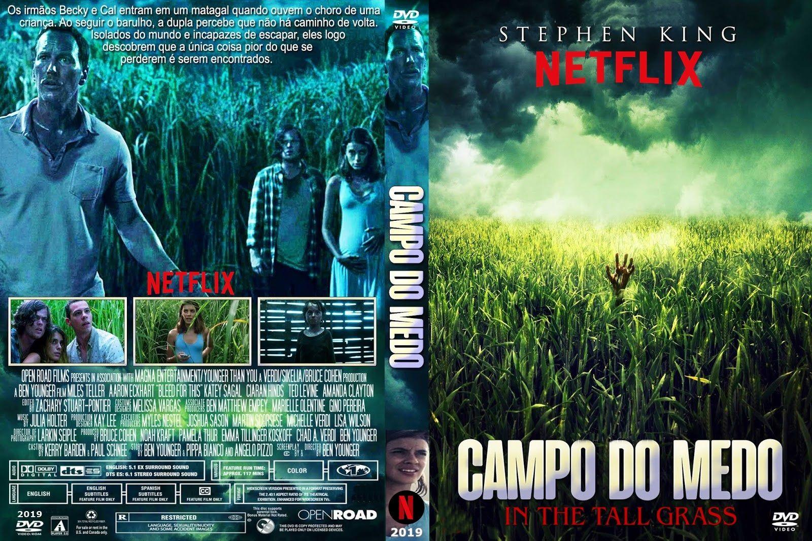 Campo Do Medo 2019 Netflix Com Imagens Netflix Dvd Medo