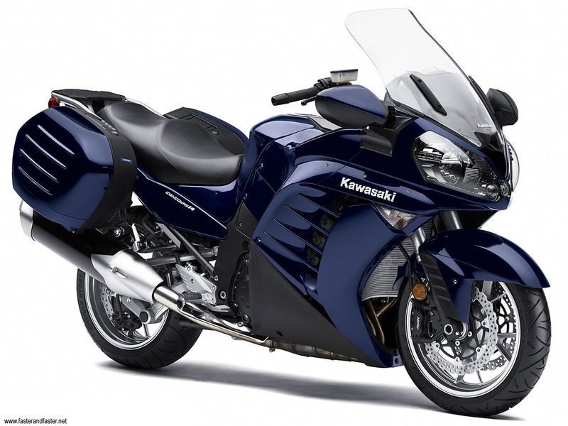 Kawasaki has release new GTR of 1400 ccm with Grand Tourer