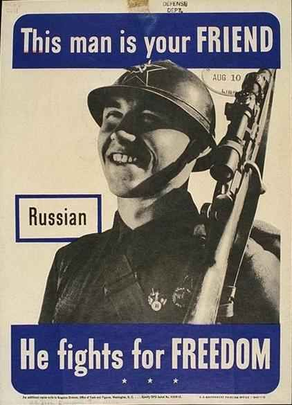 WWII Allies poster