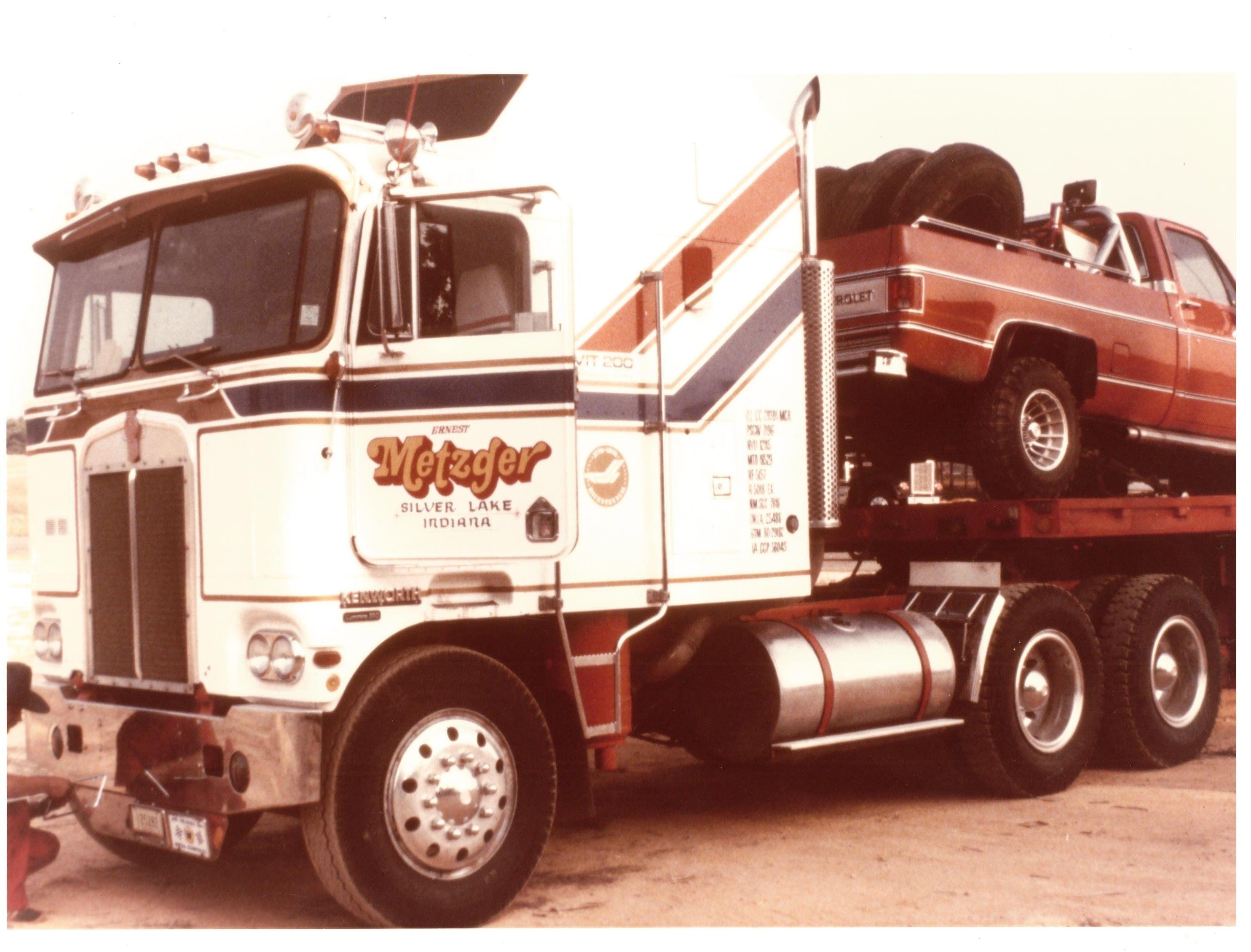Bicentennial Cabover Kenworth Trucks Big Trucks Trucks
