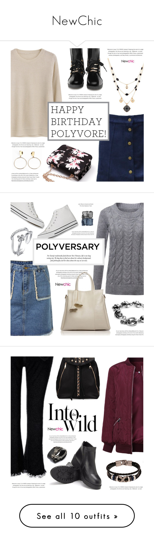 """NewChic"" by defivirda ❤ liked on Polyvore featuring polyversary, contestentry, NARS Cosmetics, Anja, Leatherock, Bebe and beauty"