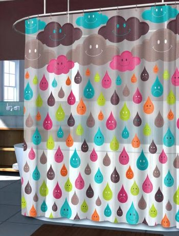 Splash Home Monday PEVA Vinyl Shower Curtain BedBathHomeCom