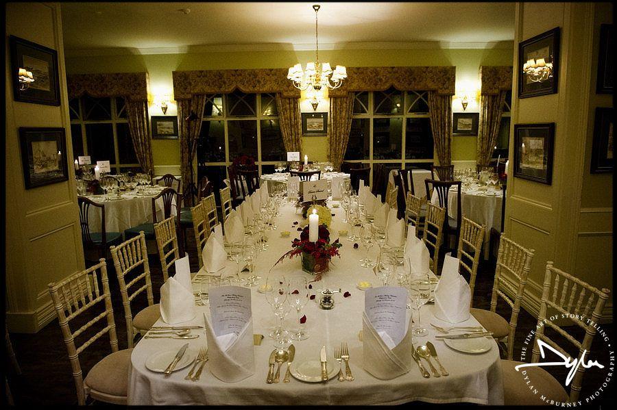 Beautiful Wedding Reception At Ballynahinch Castle By Dylan Mcburney