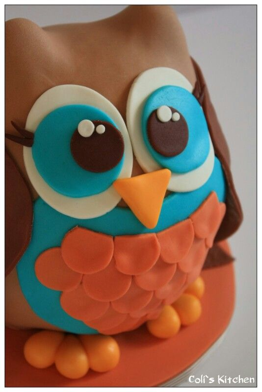 Lovely Owl cake