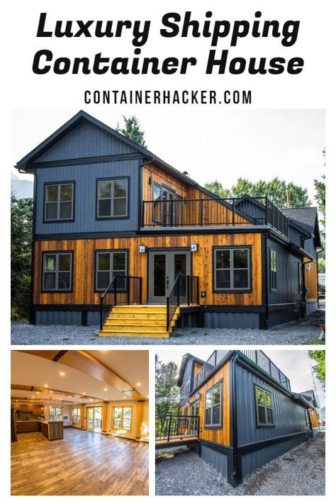 Photo of Luxury Shipping Container House – Canada – Living in a Container
