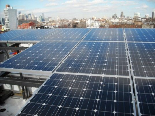 Voltaic Solaire Delta Nyc S First Self Powered Building Will Be Unveiled Next Week Solar Residential Building Building