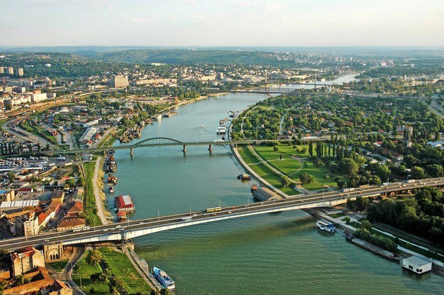 Reka Sava Belgrade Serbia Serbia Eastern Europe Travel