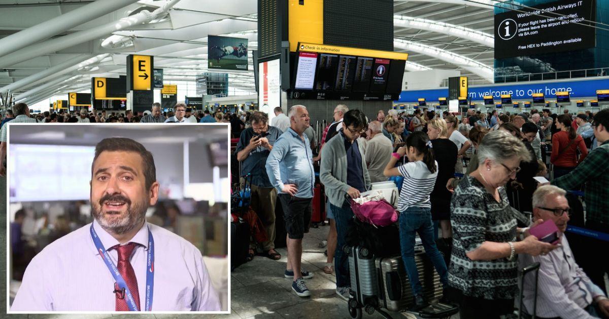British airways denies catastrophic it failure was down