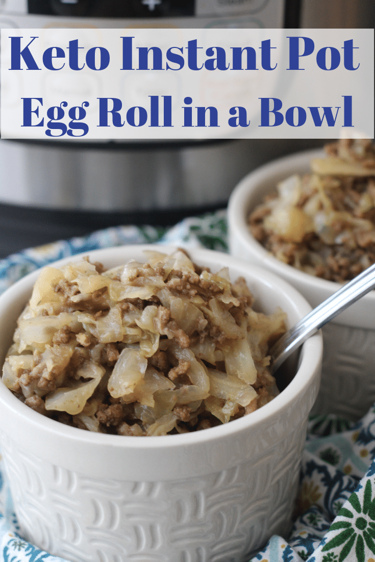 Keto Egg Roll in a Bowl #eggrollinabowl