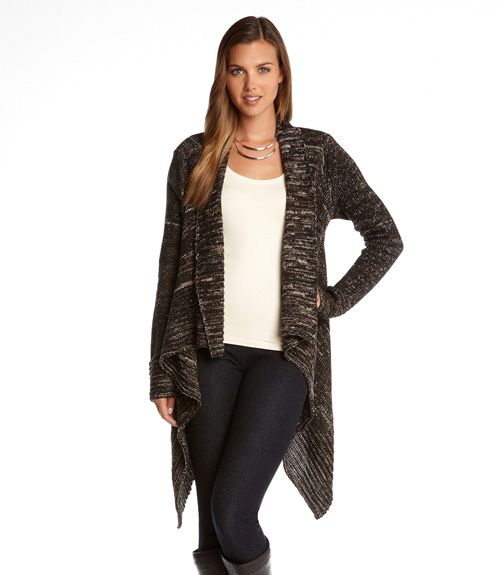 cc5fef02369 Warm and Cozy Shades of Grey Karen Kane Sweater Cardigan! Super Soft and  Great Piece for Layering over Tank Tops and Tshirts with jeans or leggings!