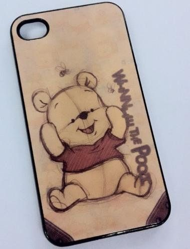 Winnie The Pooh Baby Vintage Iphone 4 Hard Case On Wanelo Wallpaper IPhone