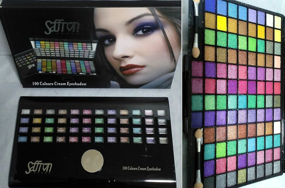 100 Colours EYESHADOW Sparkel Dust Shimmer Make Up Eyes
