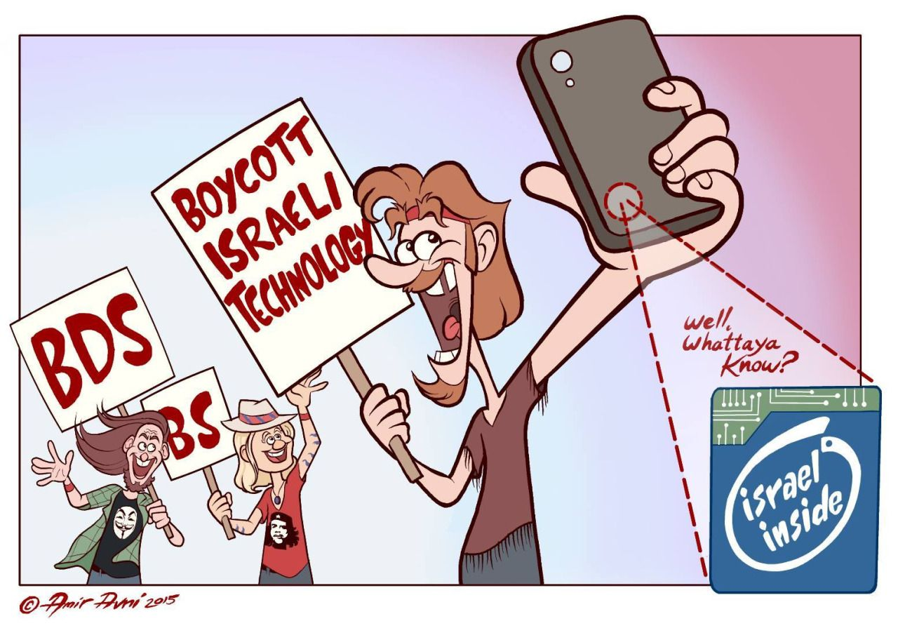 Image result for boycott ISRAEL CARTOON